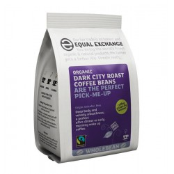 DARK CITY ROAST & GROUND COFFEE (Equal Exchange) 227g
