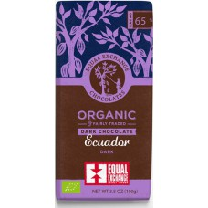 DARK CHOCOLATE 65% (Equal Exchange) 100g