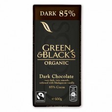 DARK CHOCOLATE 85% (Green & Black's) 100g
