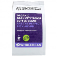 DARK CITY ROAST COFFEE BEANS (Equal Exchange) 227g