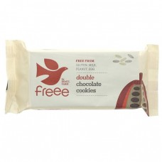 DOUBLE CHOCOLATE COOKIES (Dove's Farm) 180g