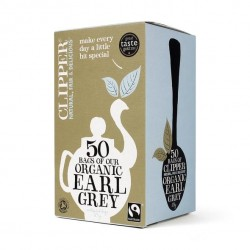 EARL GREY TEA (Clipper) x 50 bags