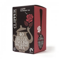 ENGLISH BREAKFAST TEA (Clipper) x 40 bags