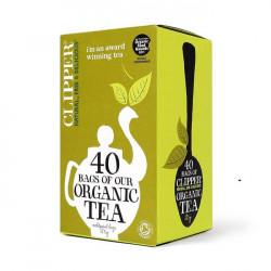 ORGANIC TEA (Clipper) x 40 bags
