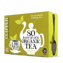 ORGANIC TEA (Clipper) x 80 bags
