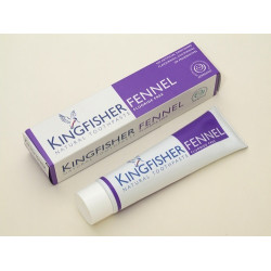 TOOTHPASTE - FENNEL FLUORIDE FREE (Kingfisher) 100ml