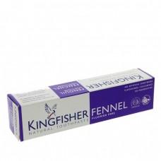 TOOTHPASTE - FENNEL FLUORIDE FREE (Kingfisher) 100ml