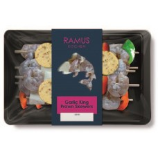 GARLIC KING PRAWN SKEWERS (Ramus) 180g