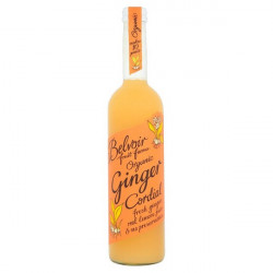 GINGER CORDIAL (Belvoir) 500ml