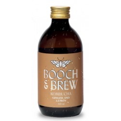 KOMBUCHA - GINGER & LEMON (Booch & Brew) 300ml