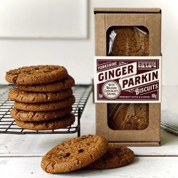 GINGER PARKIN & CHOCOLATE BISCUIT BOX (Lottie Shaw's)