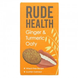GINGER & TURMERIC OATIES (Rude Health) 200g