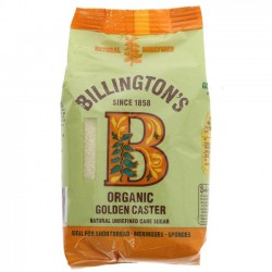 GOLDEN CASTER SUGAR (Billington's) 500g
