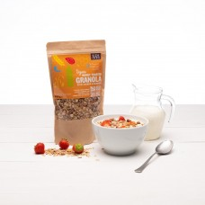 HONEY GRANOLA - ALMONDS & CASHEW (Side Oven Bakery) 450g