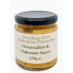 HORSERADISH & HABANERO SAUCE (Bracken Hill) 150g