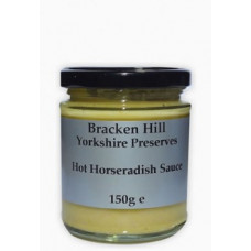 HOT HORSERADISH SAUCE (Bracken Hill) 150g