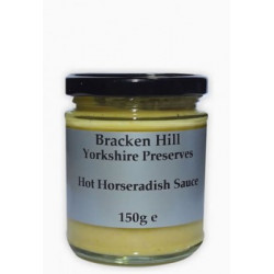 HOT HORSERADISH SAUCE (Bracken Hill) 150g