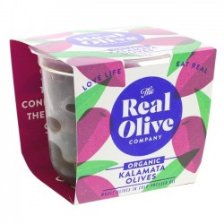 KALAMATA OLIVES (Real Olive Co.) 210g
