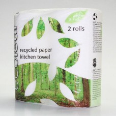 KITCHEN ROLL x 2 (Ecoleaf)
