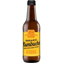 KOMBUCHA - GINGER & LEMON (Lo Bros) 330ml