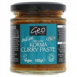 KORMA CURRY PASTE (Geo Organic) 180g