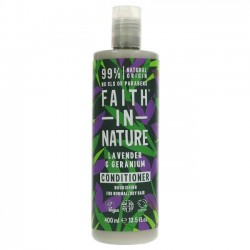CONDITIONER - LAVENDER & GERANIUM (Faith in Nature) 400ml