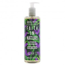 HAND WASH - LAVENDER & GERANIUM (Faith in Nature) 300ml