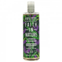SHAMPOO - LAVENDER & GERANIUM (Faith in Nature) 400ml