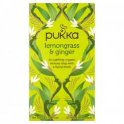 LEMONGRASS & GINGER (Pukka) x 20