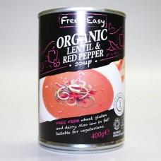 LENTIL & RED PEPPER SOUP (Free & Easy) 400g