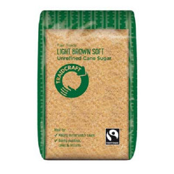 LIGHT BROWN SUGAR (Traidcraft) 500g