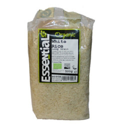 RICE - LONG GRAIN WHITE (Essential) 500g