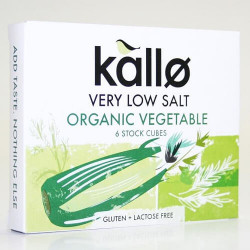 STOCK CUBE - LOW SALT (Kallo) x 6