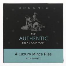 LUXURY MINCE PIES (Authentic Bread Company) x 4