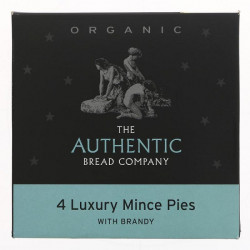 MINCE PIES (Authentic Bread Company) x 4