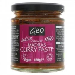 MADRAS CURRY PASTE (Geo Organic) 180g