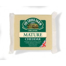 MATURE CHEDDAR CHEESE (Lye Cross Farm) 245gm
