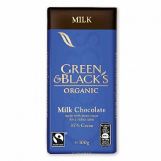 MILK CHOCOLATE (Green & Black's) 100g