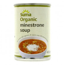 MINESTRONE SOUP (Suma) 400g