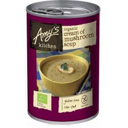 MUSHROOM SOUP (Amy's Kitchen) 400g