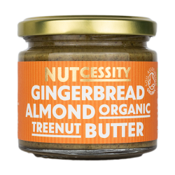 GINGERBREAD ALMOND NUT BUTTER (Nutcessity) 180g