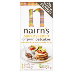 OATCAKES - SUPER SEEDED (Nairn's) 200g