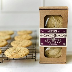OATMEAL & RAISIN BISCUIT BOX (Lottie Shaw's)