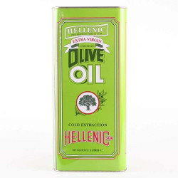 EXTRA VIRGIN OLIVE OIL (Hellenic) 5L non organic
