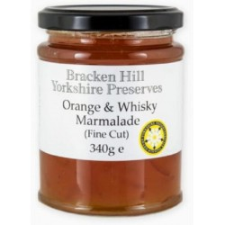 ORANGE & WHISKEY MARMALADE (Bracken Hill) 340g