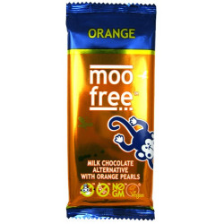 VEGAN ORANGE CHOCOLATE (Moo Free) 86g