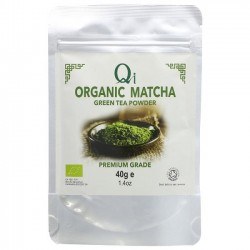 MATCHA GREEN TEA POWDER (Qi) 40g