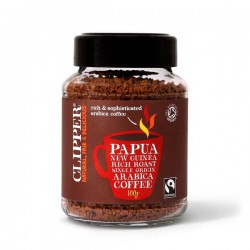INSTANT COFFEE - PAPUA NEW GUINEA (Clipper) 100g