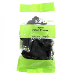 PITTED PRUNES (Suma) 250g