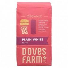 PLAIN WHITE FLOUR (Dove's Farm) 1kg